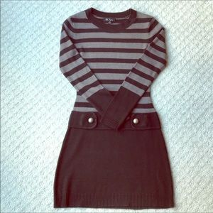 Sweater Dress...so flattering!